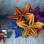 Carambola Flower Origami Written - how to make an origami flower easy step by step