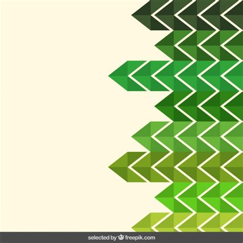 green zigzag wallpaper green tones zigzag background vector free download