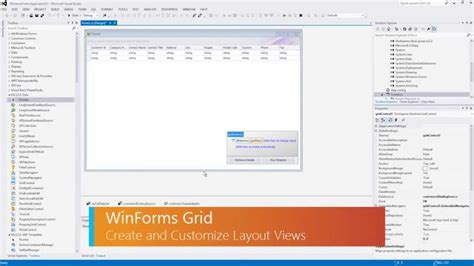 layout view vs data view winforms data grid layout view youtube