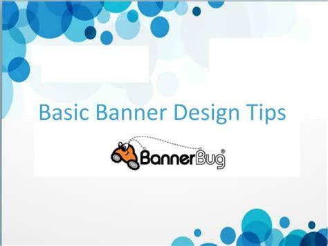 design banner tips ppt basic banner design tips powerpoint presentation