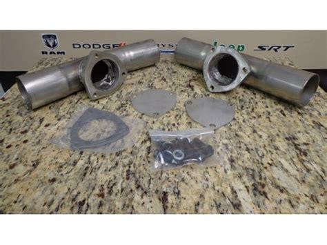 mopar performance exhaust challenger challenger mopar performance exhaust adapter p5160081