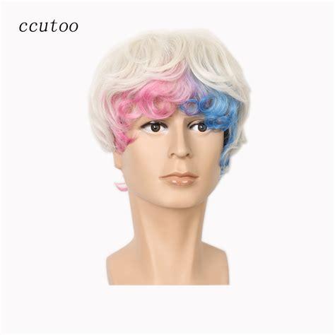 popular man blonde wig buy cheap man blonde wig lots from popular red rihanna wig buy cheap red rihanna wig lots