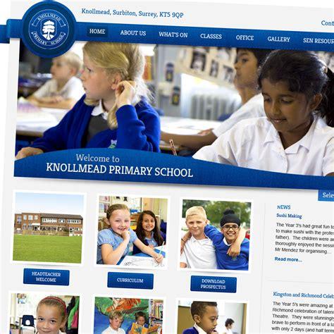 pattern school website knollmead primary school website design design for