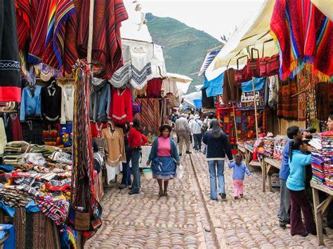 perus  local markets  souvenirs chimu adventures blog