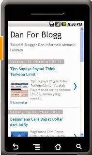 cara membuat blog di android cara membuat aplikasi android untuk blog anda danforblog com