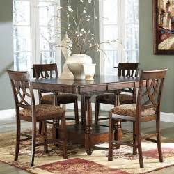 counter dining room sets leahlyn counter height dining room set casual dining