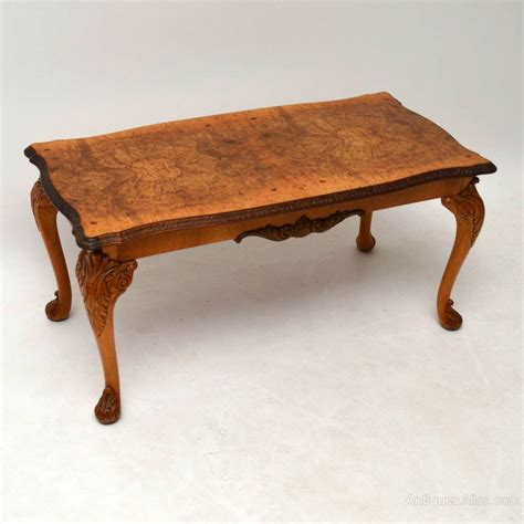 Antique Walnut Coffee Table Antique Style Burr Walnut Coffee Table Antiques Atlas