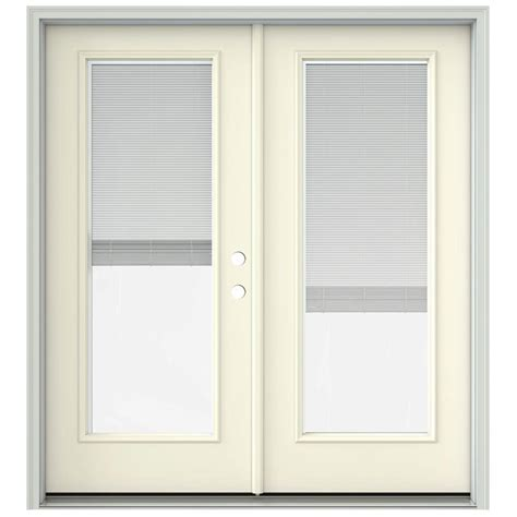 400 Series Frenchwood Hinged Patio Door by Andersen 72 In X 80 In 400 Series Frenchwood White