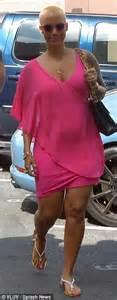 Khalifa Dress Purple By Zizara proudly displays post baby in