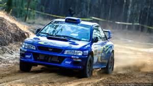 Rally Subaru 22b Replica Rally Car Shakedown At Sandblast Rally 2016