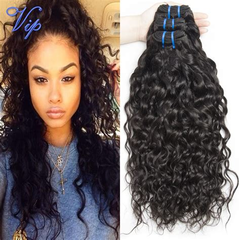 good wet and wavy human hair vipbeauty brazilian water wave virgin hair 3 bundles 8 30