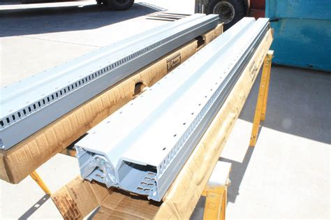 rail wire 2 new panduit drd33lg6 panduct panelmax 6 ft x 3 in din