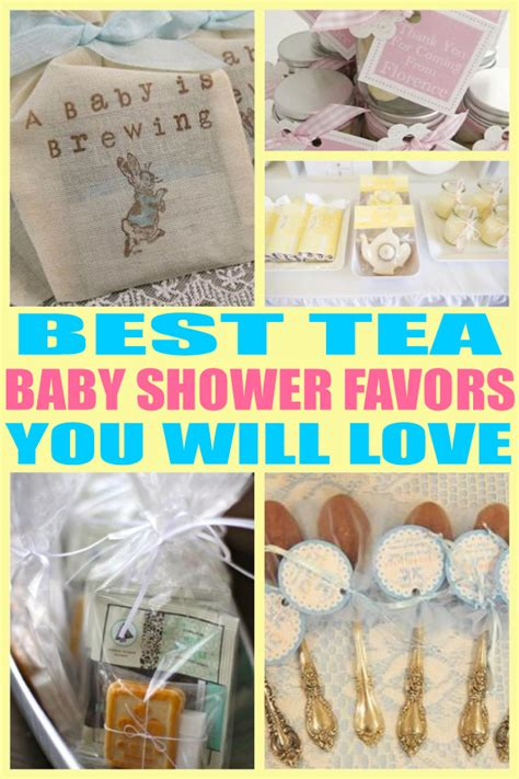 Best Baby Shower Favors by Best Tea Baby Shower Favors