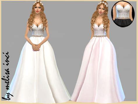 Dress Cc cc finds strapless lace bodice wedding dress by