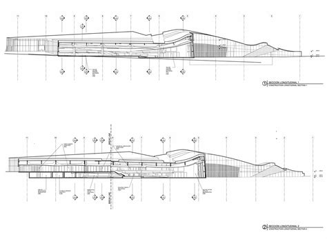 Archival Section by Showcase City Of Culture Of Galicia Features Archinect