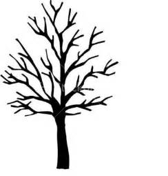 Winter tree silhouette art trees and leaves pinterest