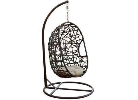 swinging on chair enjoy swinging in style with your best egg shaped outdoor