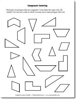 Congruence Worksheets by Candler S Geometry File Cabinet