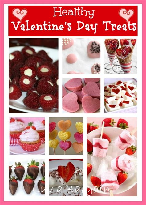 Valentines Day Treats by Healthy S Day Treats