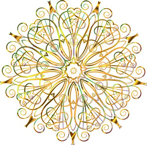 design background transparent clipart flourishy floral design 16 variation 5 no background