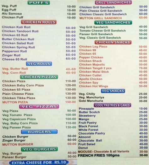 pista house menu pista house menu menu de pista house nally hyderabad zomato