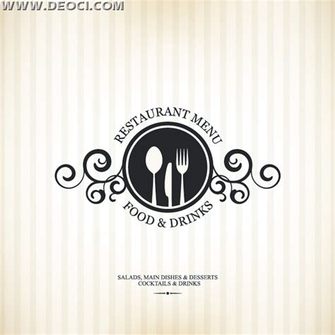 menu design eps file simple vector the western restaurant menu recipes cover