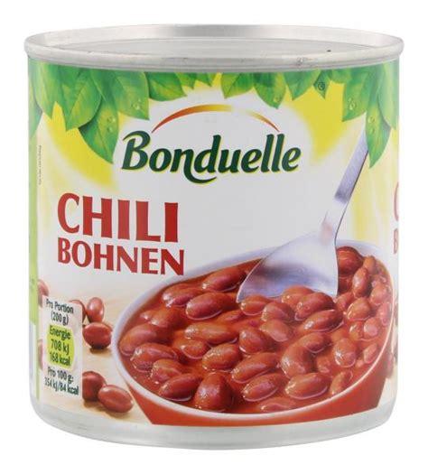 bonduelle chili bohnen kaufen bei mytime de