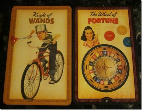 make tarot cards 10 02 11 your own luck of wands wheel of