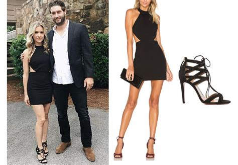 Kristin Dress kristin cavalleri s black bodycon dress and strappy black