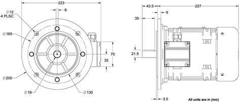 aci pmcb075 ac industrial motors