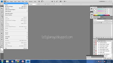 tutorial membuat kaligrafi dengan photoshop tutorial membuat file baru di photoshop cs4