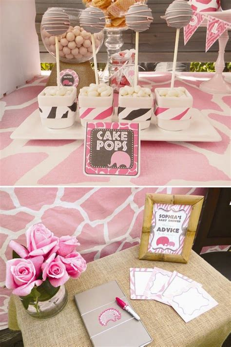 Pretty In Pink Baby Shower Theme by Baby Shower Themes For Pretty In Pink Http Whatwomenloves 2014 08 Baby