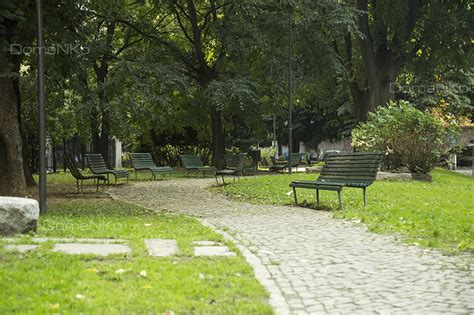 foto panchine una foto al giorno vialetto con panchine giardino david