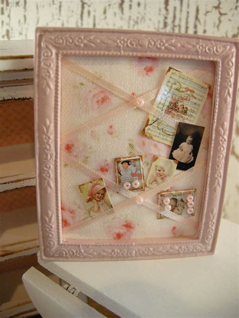 dollhouse shabby chic bulletin board welcome to the dollhouse pin