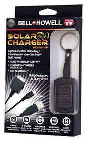 Cable Howell Usb To Micro Usb 15ma bell howell solar charger with keychain light micro usb