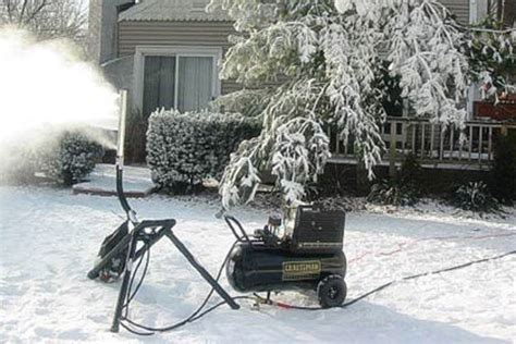 home snow machine uncrate