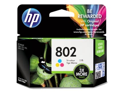 Tinta Hp 803 Tri Color hp 802 tri color ink cartridge it galeri