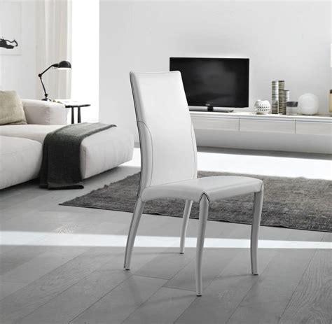 sedia sala da pranzo elegante sedia completamente rivestita in cuoio per sala