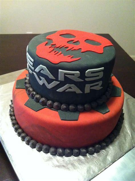 gears of war birthday cake from sweet dreams bakery tennessee bolo de gears of war