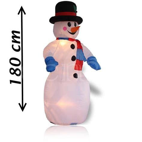 weihnachtsdeko garten aufblasbar aufblasbare weihnachtsdeko schneemann