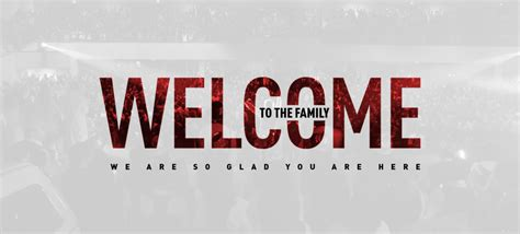 welcome church banners