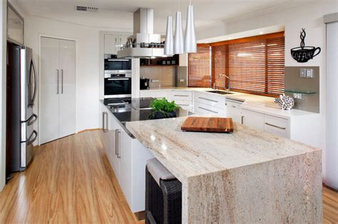 bench top material options kitchen renovations in melbourne brentwood kitchens