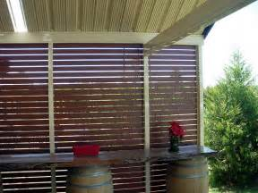 backyard screen outdoor wooden patio outdoor privacy screen ideas