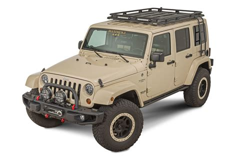 Jeep Roof Rack With Ladder by Maximus 3 0300 004rsl Oo Side Roof Ladder For 07 17 Jeep