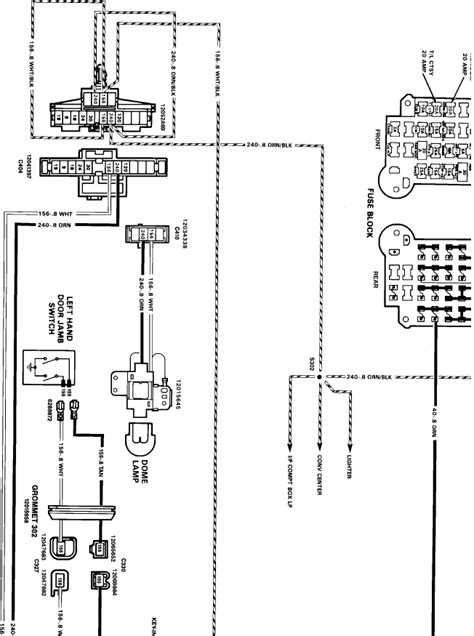 s10 dome light fuse box wiring diagrams
