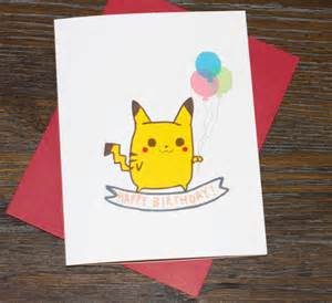 birthday pikachu card pikachu happy birthday card from turtle s soup