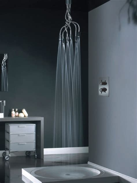 amazing showers for bathroom amazing shower heads sculpture showerhead by vado