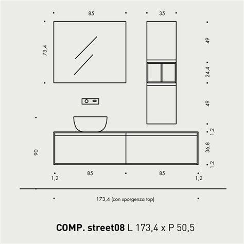 mobile bagno dimensioni misure standard mobili bagno sweetwaterrescue