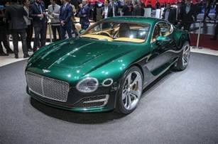 Sports Bentley New Bentley Exp 10 Speed 6 Concept Previews Two Seat