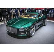 New Bentley EXP 10 Speed 6 Concept Previews Two Seat